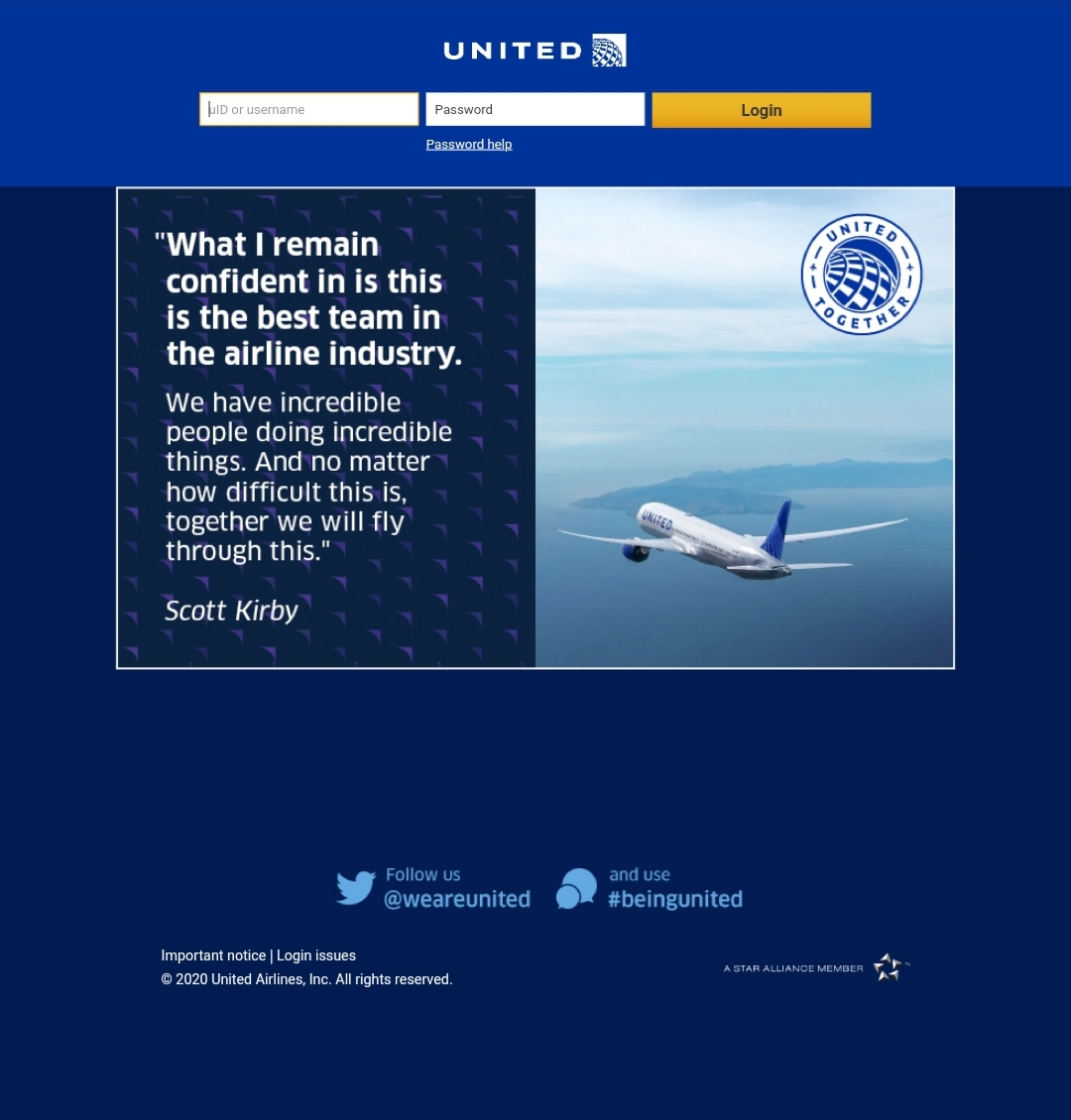 flying together.ual.com employeeservices benefits