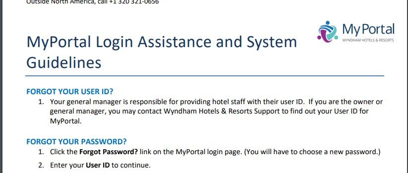 my portal wyndham