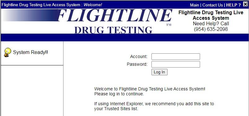 faa flightline login