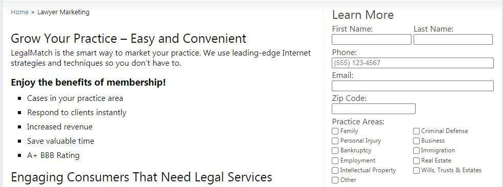 legalmatch login