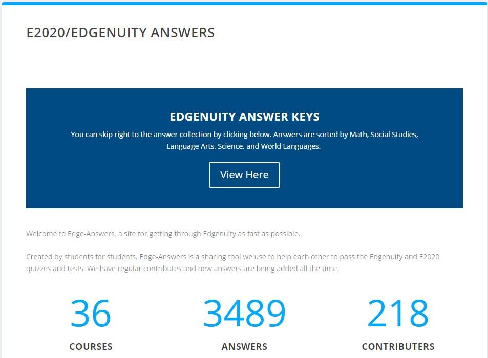 edgenuity hack