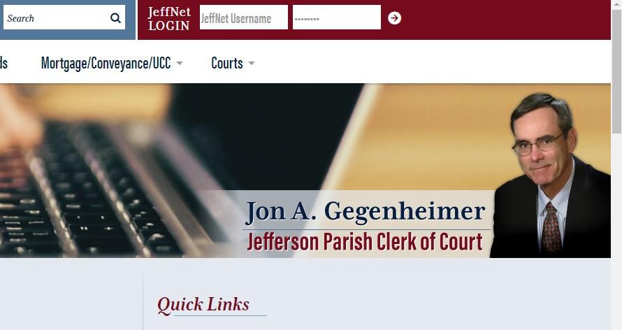 jeffnet jefferson parish